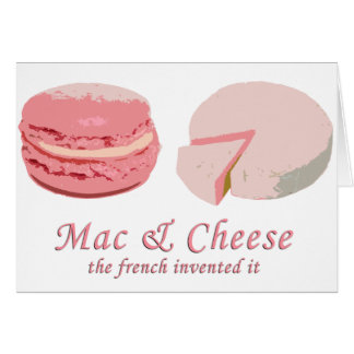 Cartes Macarons et fromage - LeFrenchVintage