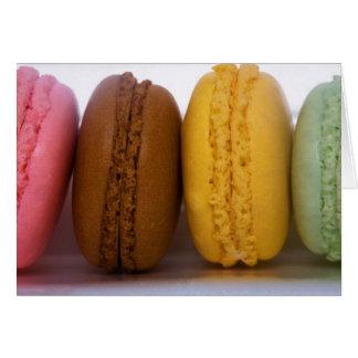 Cartes Macarons français gastronomes importés (macarons)