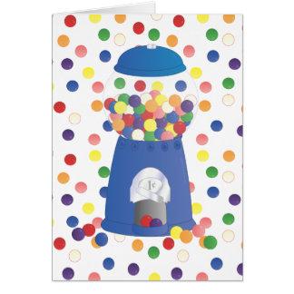 Cartes Machine bleue de Gumball