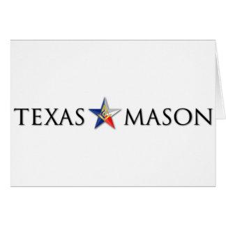 Cartes Maçon du Texas