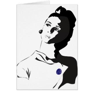 Cartes Madame des années 60