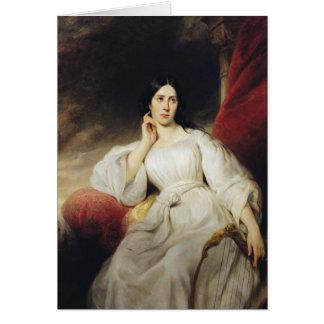 Cartes Madame Malibran dans le rôle de Desdemona, 1830
