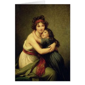 Cartes Madame Vigee-Lebrun et sa fille