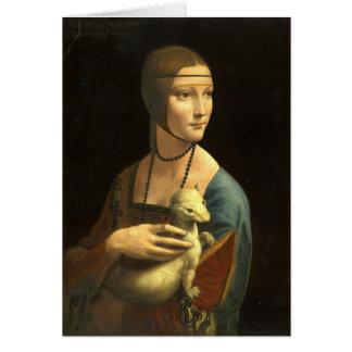 Cartes Madame With An Ermine de Leonardo da Vinci