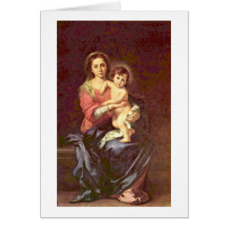 Cartes Madonna par Bartolome Esteban Murillo