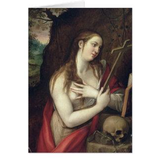 Cartes Magdalene contrite, 1579