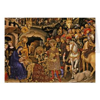 Cartes Magi de dei d'Adorazione