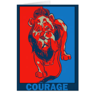 Cartes Magicien d'Oz de Denslow : : Courage