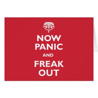 Cartes Maintenant la panique et Freak