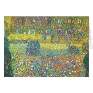 Cartes Maison de campagne de Gustav Klimt par l'Attersee