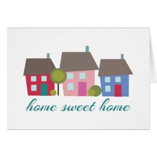 Cartes Maison douce à la maison