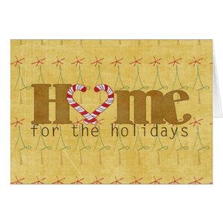 Cartes Maison pour les vacances