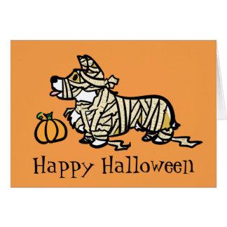 Cartes Maman de Halloween de corgi