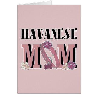 Cartes MAMAN de Havanese