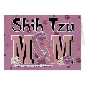 Cartes MAMAN de Shih Tzu