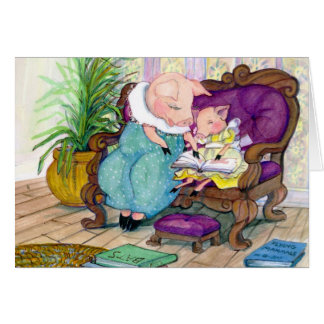 Cartes Mamans de porc et copie de Clara