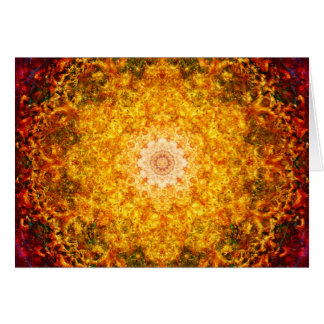 Cartes Mandala d'abondance