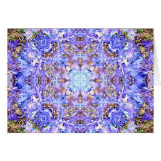 Cartes Mandala de jacinthe
