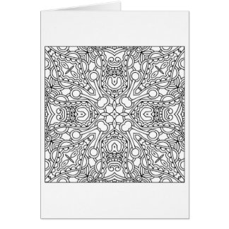 Cartes Mandala de motif