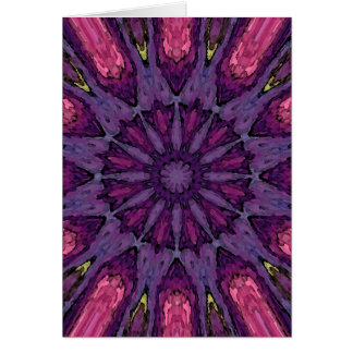 Cartes Mandala 'Hippie