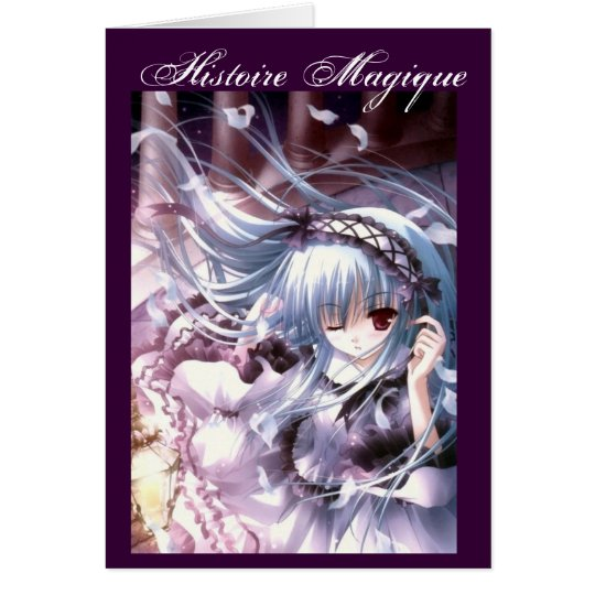 Cartes manga-fille-gothique-