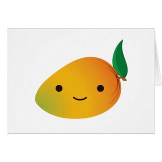 Cartes Mangue mignonne de Kawaii
