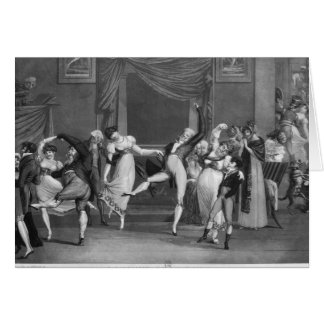 Cartes Manie de danse, 1809