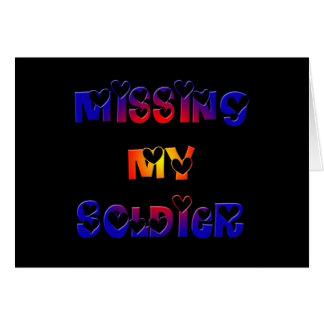 Cartes Manquer mon soldat