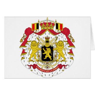 Cartes Manteau de la Belgique des bras