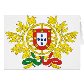 Cartes Manteau du Portugal des bras