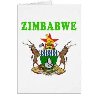 Cartes Manteau du Zimbabwe des conceptions de bras