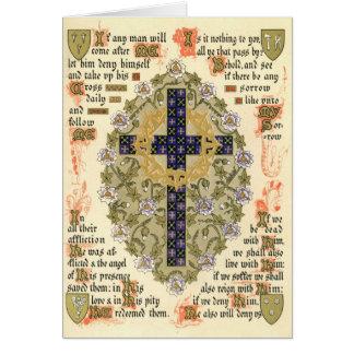 Cartes Manuscrit lumineux pour le Septuagesima et prêté