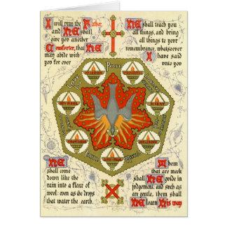 Cartes Manuscrit lumineux pour Whitsuntide