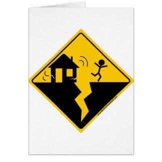 Cartes Marchandises et habillement d'avertissement de