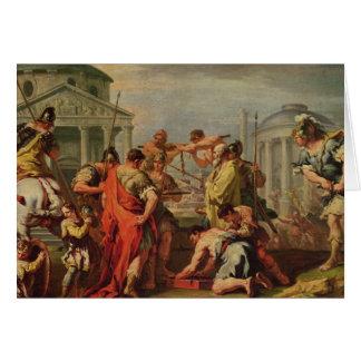 Cartes Marcus Furius Camillus et Brennus