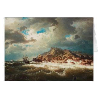 Cartes Marcus Larson - bateau par la côte