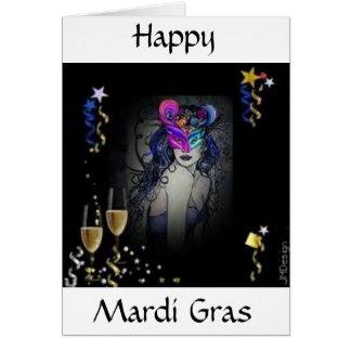Cartes Mardi gras