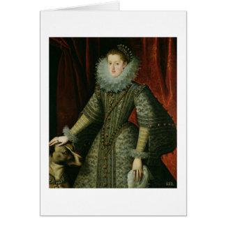 Cartes Margarita de la Reine de l'Autriche, 1609 (huile