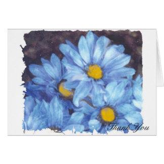 """Cartes """"Marguerites bleues """""""