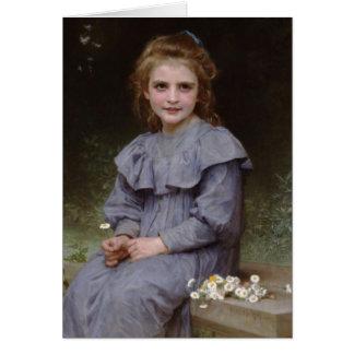 Cartes Marguerites - William-Adolphe Bouguereau