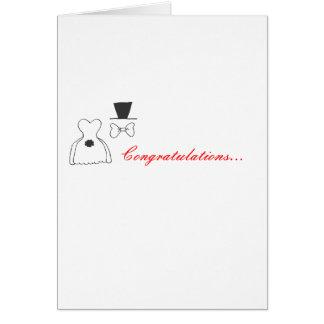 Cartes Mariage Congrats !
