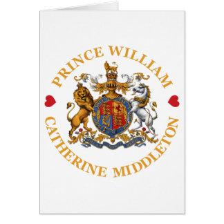 Cartes Mariage de prince William et Catherine Middleton