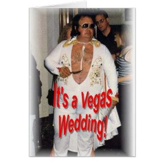 Cartes Mariage de Vegas