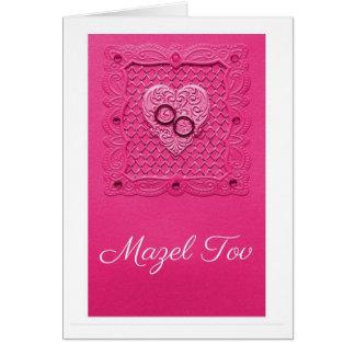 Cartes Mariage rose