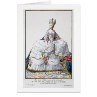 Cartes Marie Antoinette (1752-93) de 'DES Estam de