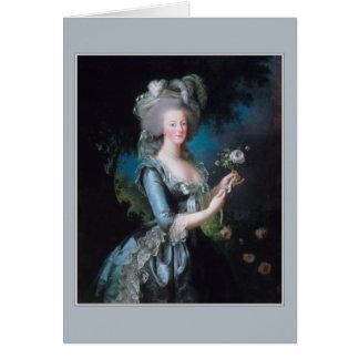 Cartes Marie Antoinette par Elisabeth Vigee-Lebrun