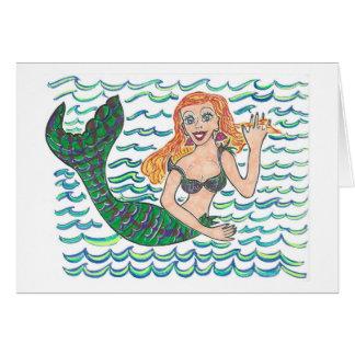 Cartes Marina la sirène