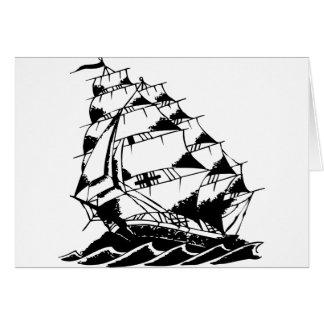 Cartes Marine de bateau de navigation de tatouage d'Olds