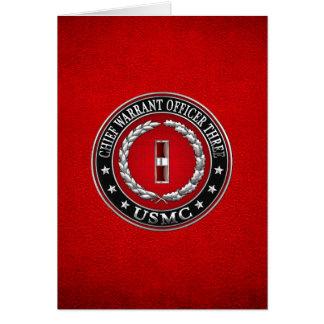 Cartes Marines des USA : Garantie en chef trois (usmc