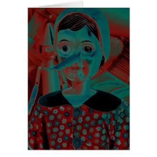Cartes Marionnette de Pinocchio